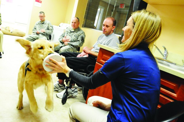 Service Dogs for wounded servicemembers