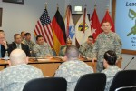 The Inspector General of the Army visits 21st Theater Sustainment Command