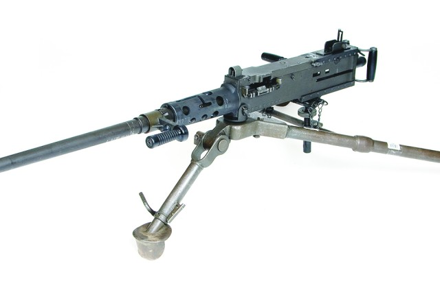 The M2A1 Machine Gun includes new modern features and design improvements that make it easier and safer to use including a quick change barrel and a new flash hider that reduces the weapon's signature by 95 percent at night.