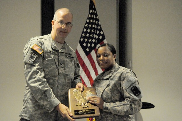 The 2012 INSCOM Adjutant General's Corps Warrant Officer of the Year is Chief Warrant Officer Two Christina Howard, Human Resource Technician, 470th MI Brigade.  CW2 Howard led the way in the integration of the 206th and 306th Military Intelligence Battalions into the 470th Military Intelligence Brigade.  Her extraordinary efforts streamlined personnel action processes and greatly enhanced the transparency of the Brigade's S1's operations.