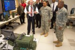 AMC General visits Aberdeen Proving Ground