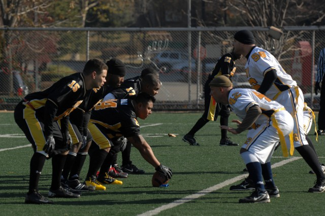 Flag football forges friendship