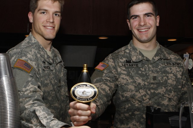 "Following the Spirit Rally and Bonfire, Dec. 6, at Daly Field, the West Point Chemical Engineering Club's brew crew""Class of 2013 Cadets Daniel Prior  Matthew Letarte (pictured) and John Todd""will toast an Army victory as they debut a limited edition beer at the Firstie Club."