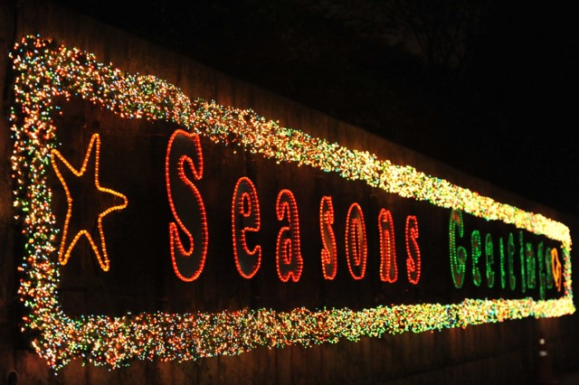 KSC Battalion lights up holidays in South Korea