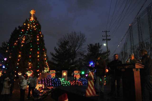 The Korean Service Corps Battalion brightened the holiday season for U.S. military personnel and families in South Korea.