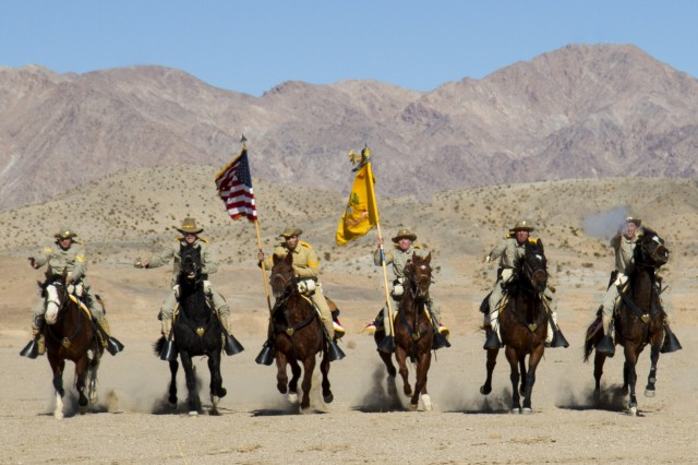 us army cavalry