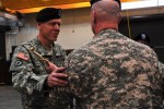 Thunderbolt Brigade welcomes, bids farewell to command sergeants major