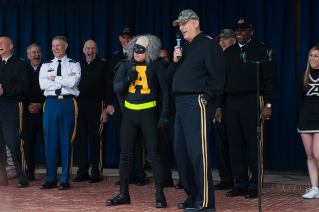 2nd Annual Army Pep Rally at the Pentagon Dec. 7, 2012.