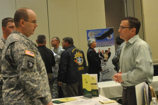 A step ahead: Wounded warriors offered exclusive access to job fair