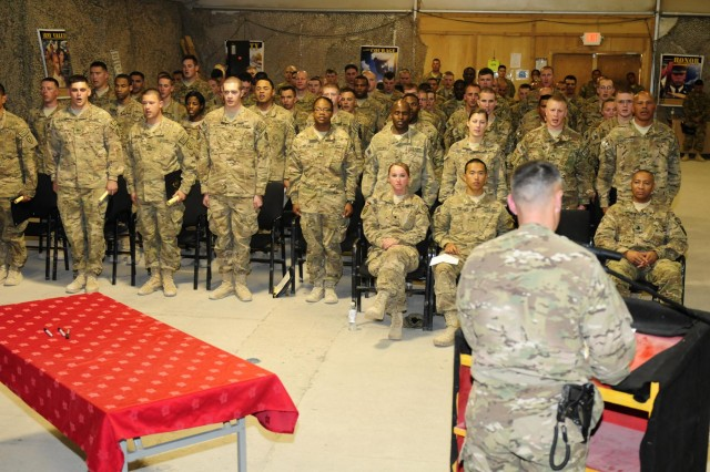 25th CAB inducts NCOs