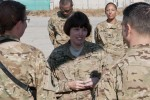 Chief Army Nurse visits Bagram