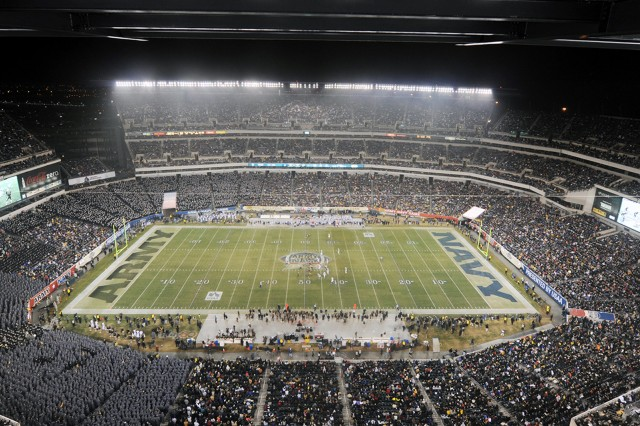 The 113th Army-Navy gridiron classic was held at Lincoln Financial Field in Philadelphia, Dec. 8., 2012. Navy won 17-13, extending their winning streak over Army for the 11th straight year.