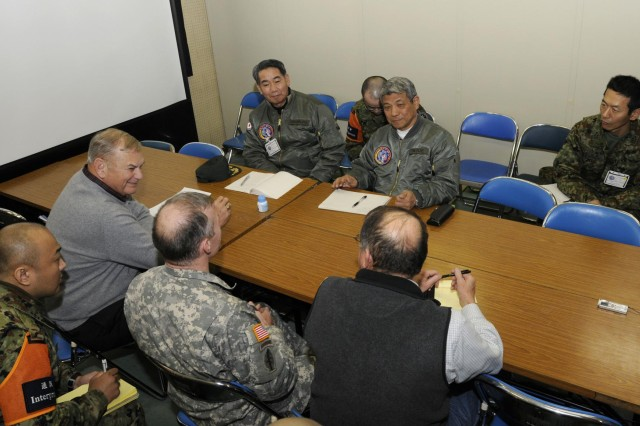 Members of the United States Army and the Japan Ground Self-Defense Force teamed up to collect, track and distribute lessons learned during the bi-lateral training event Yama Sakura 63, held in Sendai, Japan. The JGSDF attended a five-day workshop hosted by the Center For Army Lessons Learned team at Fort Leavenworth, Kan. Both teams traveled to Japan for Yama Sakura to close out the training.