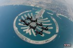 8-Way Formation Team over Palm in Dubai