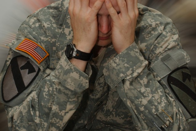 Soldiers who are away from their loved ones this holiday season need to be especially alert to signs of stress so they can seek help or get others to seek help.