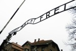 Work makes you free sign in Auschwitz