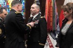 Change of stole ceremony welcomes new Division West chaplain