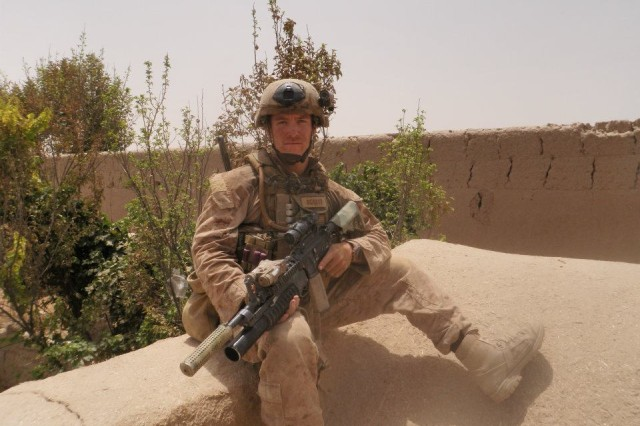 Sgt. David M. Gerardi, a weapons sergeant with the Army National Guard's 19th Special Forces Group, received the nation's third highest medal for his actions while deployed in 2011 as an active-duty Marine with 3rd Reconnaissance Battalion, 2nd Marine Division (Forward), II Marine Expeditionary Force.