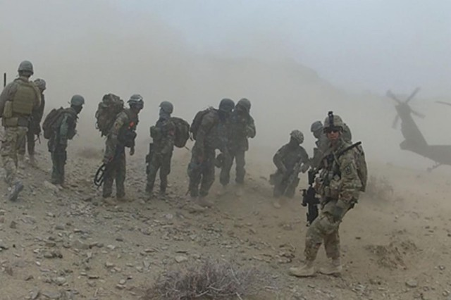 With Hawaii Army Guard mentoring, Afghan forces take independent strides