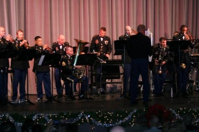 "A free concert at Buena High School on Dec. 12 offered locals a chance to get in the holiday spirit. It was part of the ""Sounds of the Season"" concert presented by the United States Military Intelligence Corps Band. The crowd was encouraged to sing along to the holiday songs."