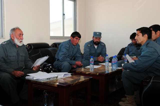 Afghan police enhance district-level logistics in Uruzgan