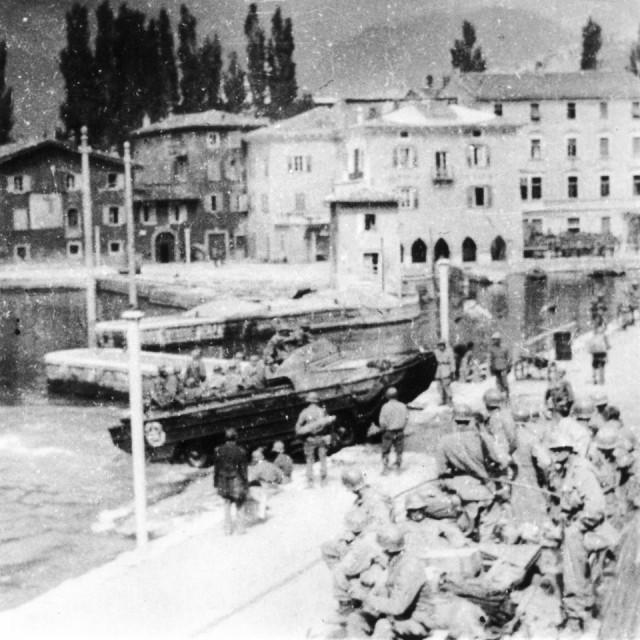 DUKW at Lake Garda