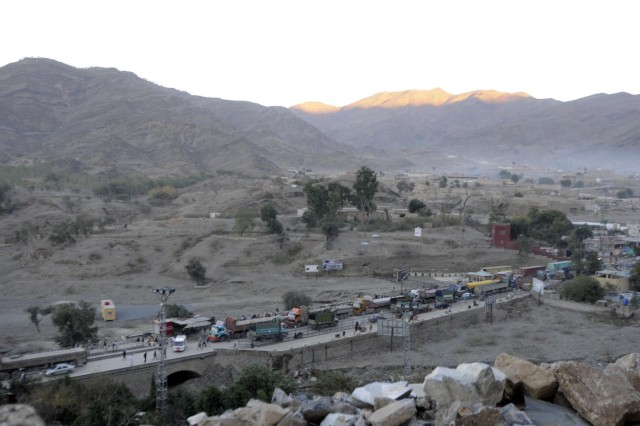 Torkham gate security forces protect Afghanistan's people