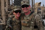 Deployed couple relies on battlefield circulation to see each other