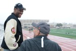 David Robinson watches All-American Bowl practice