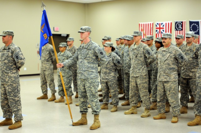 "In this image, released by the 36th Combat Aviation Brigade, members of B Company, 1-149th Attack Reconnaissance Battalion conduct a departure ceremony in preparation for their upcoming deployment to Afghanistan. The unit, under the call sign ""Wolf Pack,"" will use their AH-64D Longbow Helicopters in support of Operation Enduring Freedom in the CENTCOM area of operations."