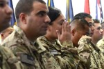 Thirty one deployed servicemembers earn US citizenship at Bagram Air Field