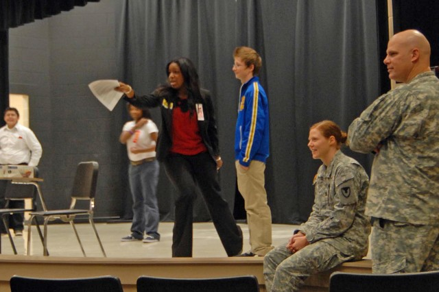 Redstone Arsenal employees often interact with school-age students through educational outreach programs.