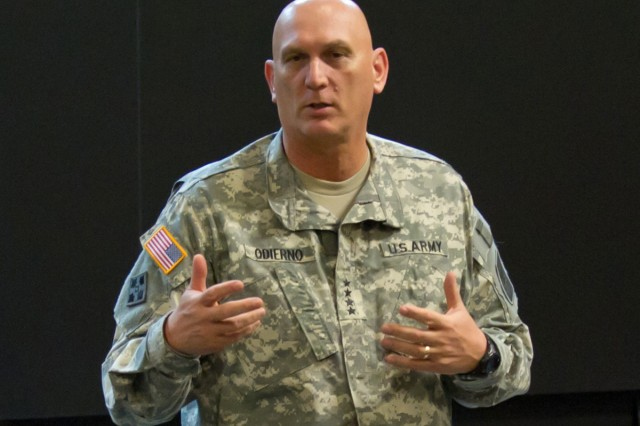 U.S. Army Chief of Staff Gen. Raymond T. Odierno is visiting U.S. troops, civilians and families in South Korea, Jan. 10-11, 2013.