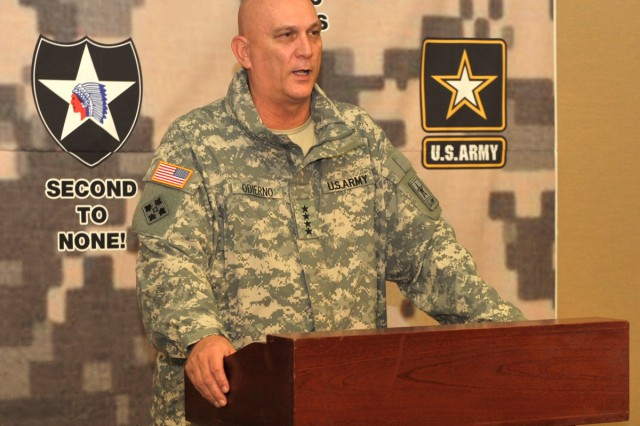 U.S. Army Chief of Staff Gen. Raymond T. Odierno is visiting U.S. troops, civilians and families in South Korea Jan. 10 - 11.