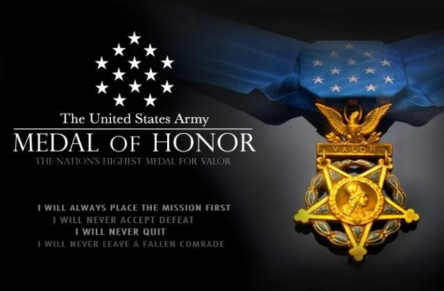 U.S. Army Medal of Honor graphic