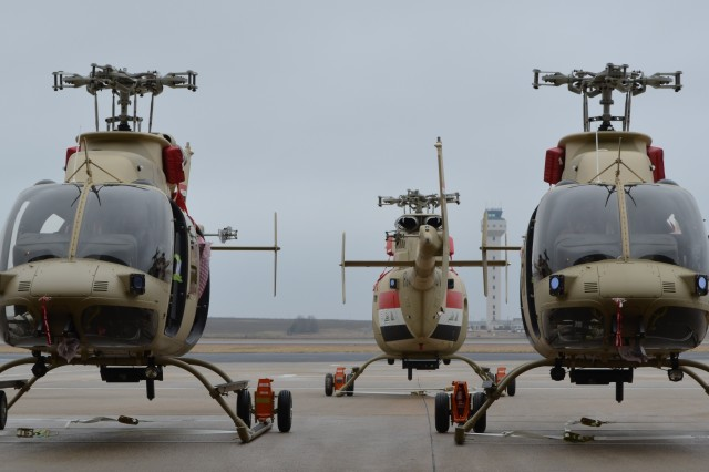 Iraqi Armed 407 helicopters