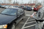 Military Police raises awareness of handicapped parking zones