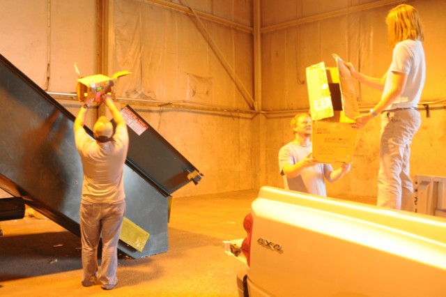 Fort Rucker helps make recycling easy, accessible