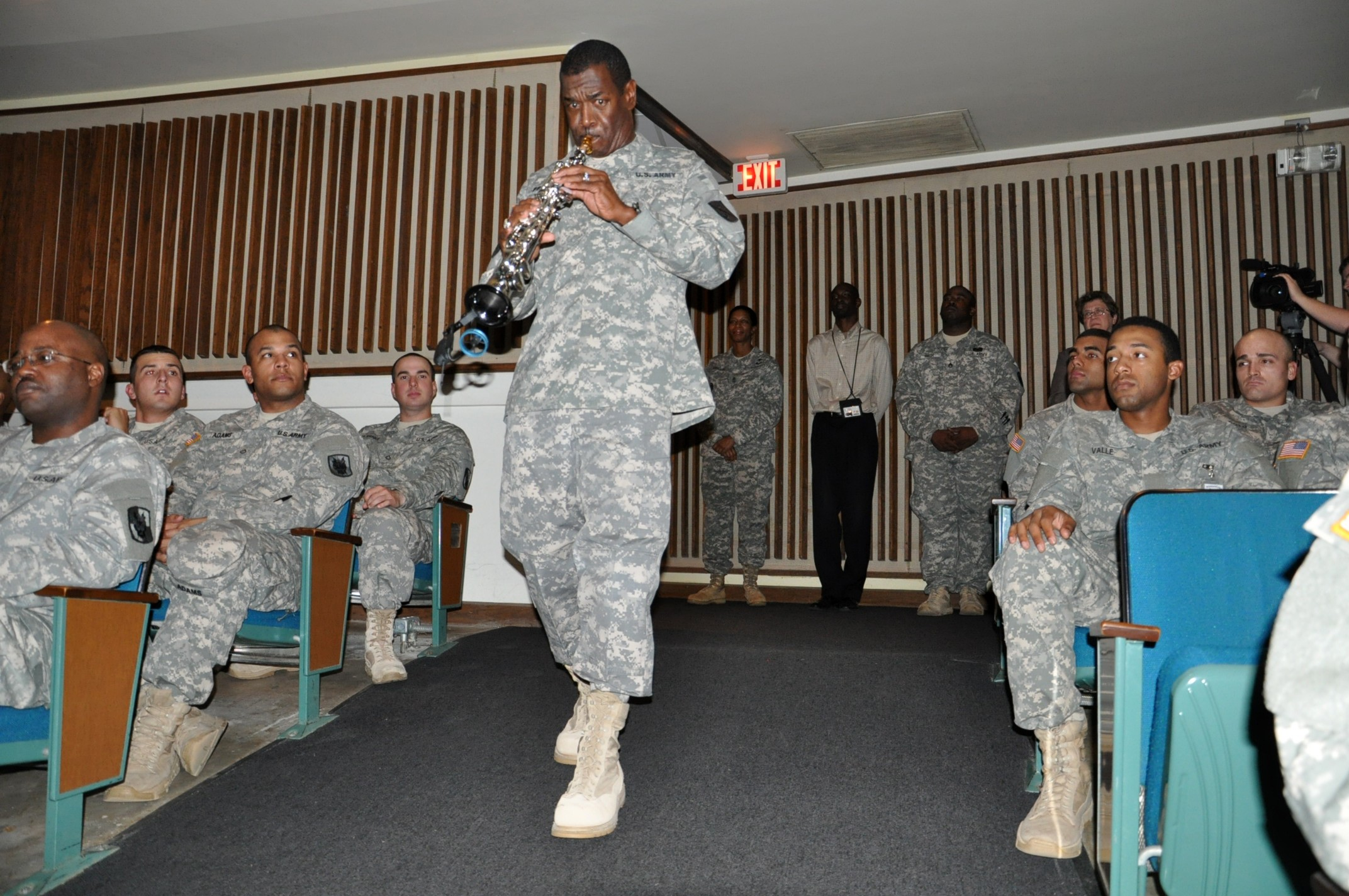 fort gordon honors legacy of dr martin luther king jr article 447th signal battalion command sergeant major enters alexander hall jan 11 playing america the beautiful during the 2013 dr martin luther king jr