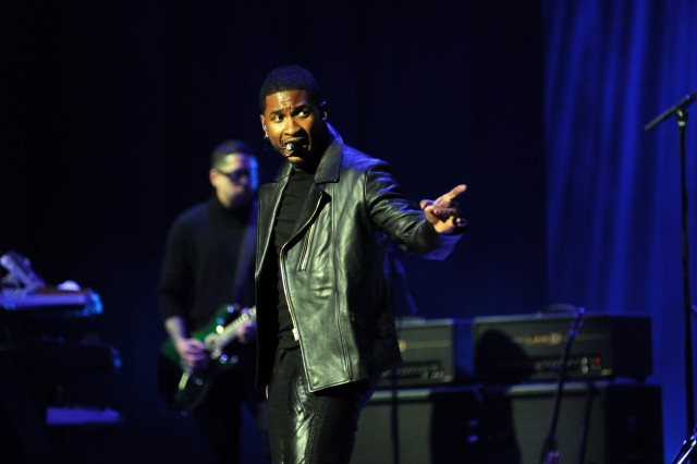 "Musician Usher performed at the ""Kids' Inaugural: Our Children. Our Future"" concert, Jan. 19, 2013, in Washington, D.C.  The children's event was in advance of the second inauguration of President Barack Obama."