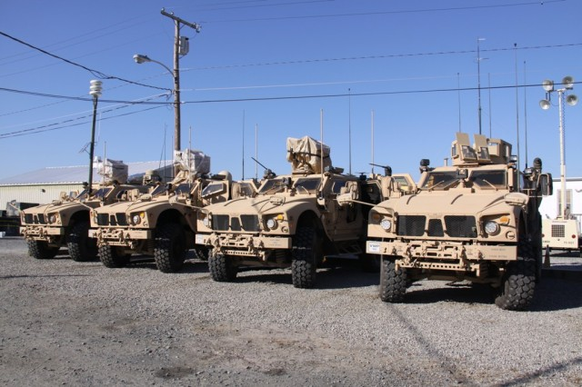 "The vehicles used for Capability Set 13 Network Verification form a representative ""slice"" of the network architecture for CS 13 brigades. Inside vehicles configured with components of CS 13, commanders will be able to exchange information and execute mission command using mobile communications technologies, rather than having to rely on a fixed infrastructure."