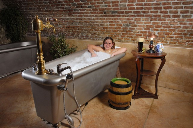 The Bohemian tradition of bathing in beer is an abberent path toward health and wellness.