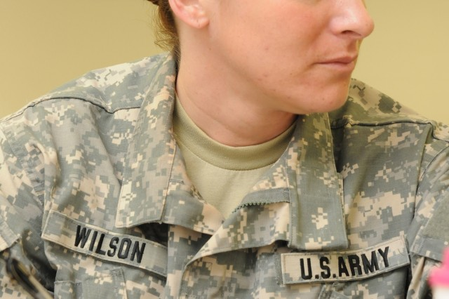 1st Lt. Rebecca Wilson, commander of 333rd Engineer Company, 365th Engineer Battalion, 412th Theater Engineer Command, prepares to take her Soldiers overseas for a deployment later this year and says being a leader during a time like this is of great importance.