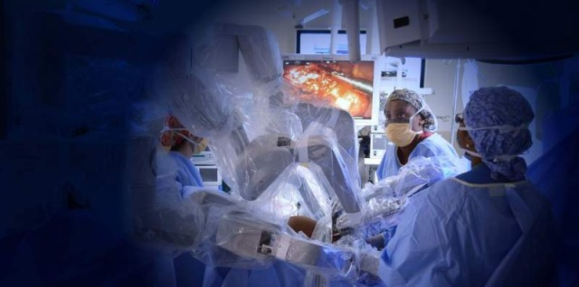 Robots in operating rooms: Technology supports rapid return to duty