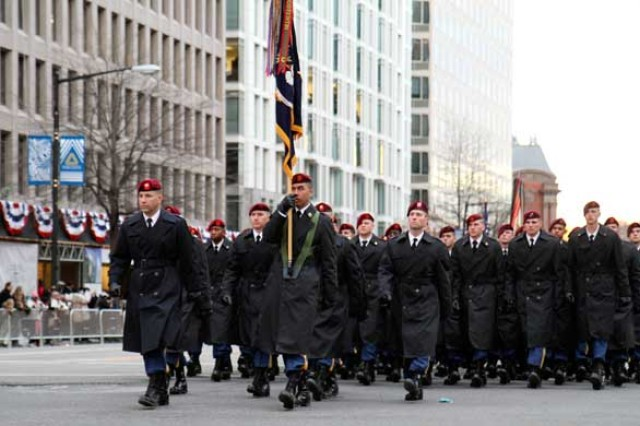57th Presidential Inaugural Parade supported by Fort Bragg paratroopers