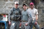 First Lt. Bunderman, Staff Sgt. Romesha and Sgt. Larson