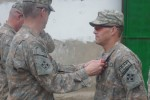 Staff Sgt. Romesha receives Bronze Star Medal