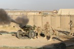 Live-fire exercise in Afghanistan
