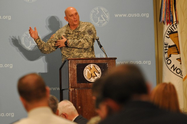 Speaking before AUSA members Jan. 24, 2013, Army Chief of Staff Gen. Raymond T. Odierno told them current fiscal uncertainty could result in a total operations and maintenance shortfall of $17 billion.