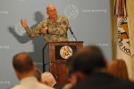 CSA Speaks on Budget Crisis at AUSA